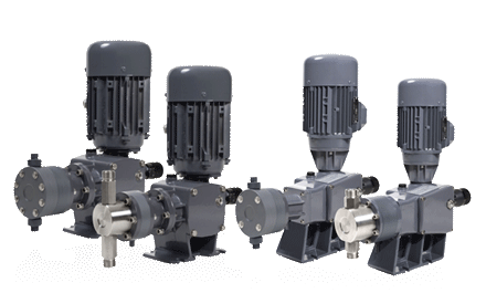 Piston dosing pumps